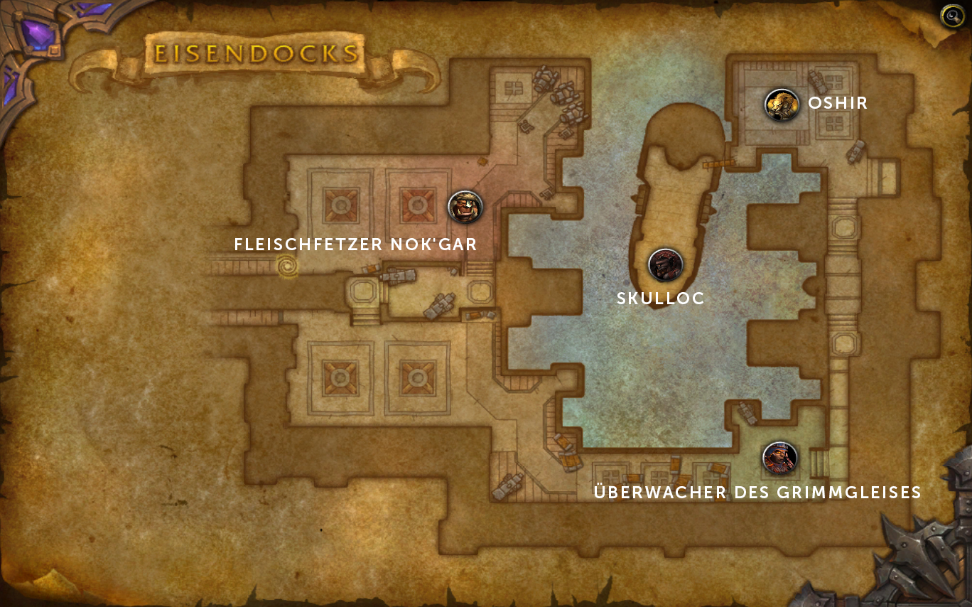 warlords of draenor dungeonguide eisendocks